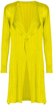 Pleats Please Issey Miyake Sara Sara Long Coat
