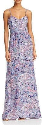 Parker Virginia Silk Paisley Print Maxi Dress - 100% Exclusive $348 thestylecure.com