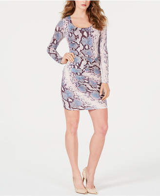 GUESS Cierra Floral-Print Bodycon Dress