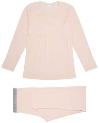 La Perla Lace Panel Pyjama Set