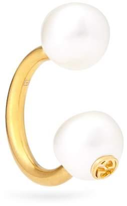 Gucci Pearl-effect single earring