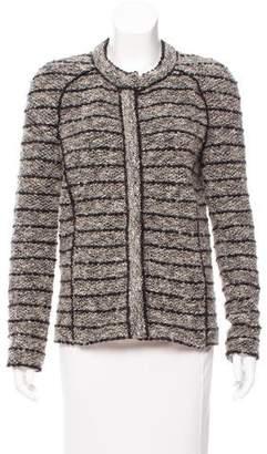 Etoile Isabel Marant Structured Wool Blend Jacket
