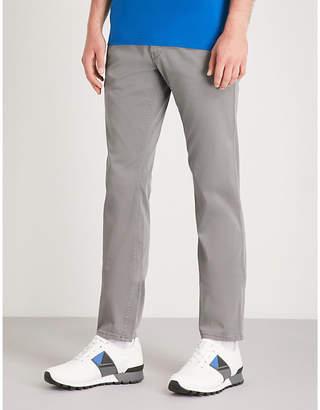 BOSS ORANGE Slim-fit stretch-cotton chinos