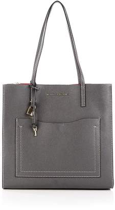 Marc Jacobs The Grind T Pocket Tote Bag - Grey