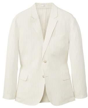 Mango man MANGO MAN Slim-fit striped linen blazer