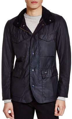 Barbour Sapper Tailored Waxed Cotton Jacket $399 thestylecure.com