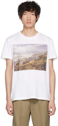 Stella McCartney White Idol Stag T-Shirt