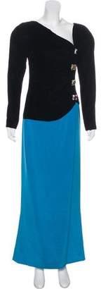 Oscar de la Renta Vintage Velvet Gown