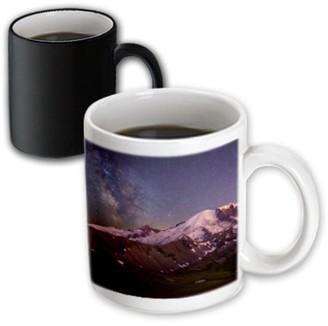 3dRose USA, Washington, Mt. Rainier NP - Magic Transforming Mug, 11-ounce