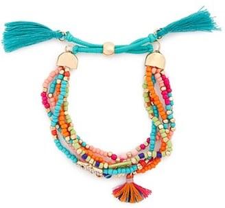 Cara Couture Beaded Bracelet $14 thestylecure.com