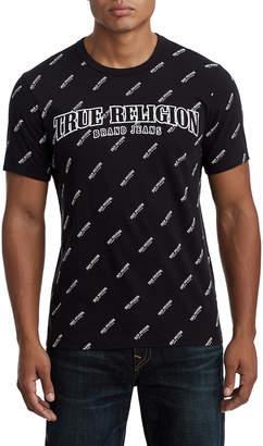 True Religion MENS ALL TRUE LOGO TEE