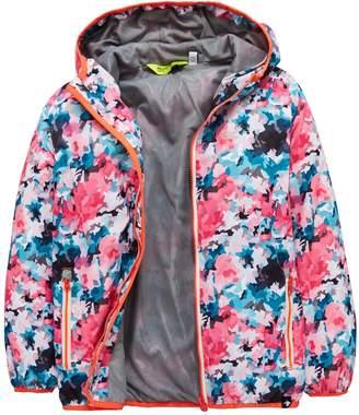 Regatta Girls Printed Lever Waterproof Jacket