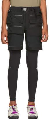 Nike Black Matthew Williams Edition Layered 2-Piece Hybrid Lounge Pants