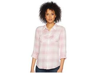 Pendleton Plaid Roll Sleeve Soft Shirt Women's Clothing