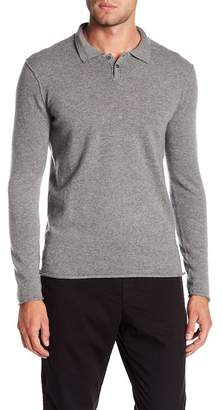 Velvet Collared Cashmere Sweater