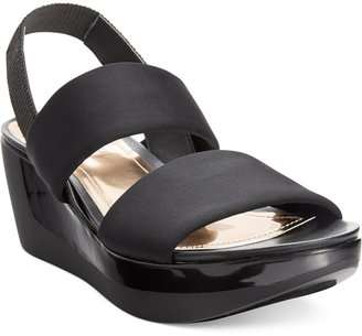 Kenneth Cole Reaction Pepe Pot Platform Wedge Sandals $59 thestylecure.com