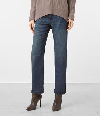 Denim Lounge Pants $160 thestylecure.com