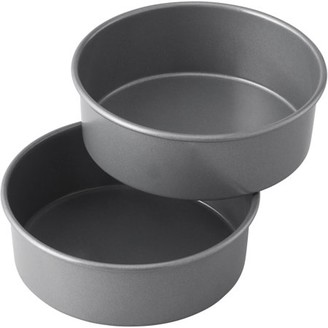 Wilton Treats Made Simple Non-Stick Cake Pan Set, Round, 6 in, 2-Count Layered Smash Cake Set