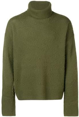 Acne Studios Nyran oversized turtleneck sweater