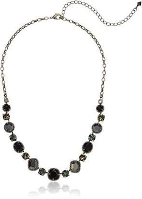 Sorrelli Onyx Embellished Elegance Necklace