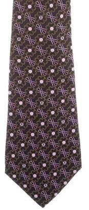 Chanel Printed Silk Tie
