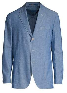 Polo Ralph Lauren Cotton Classic-Fit Chambray Sportcoat
