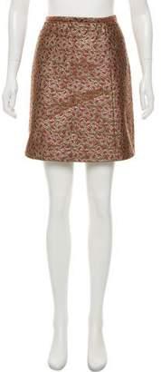 RED Valentino Embroidered Mini Skirt
