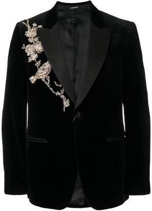Alexander McQueen classic tuxedo jacket