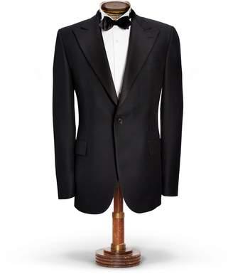 Ralph Lauren Wool Satin Tuxedo Jacket