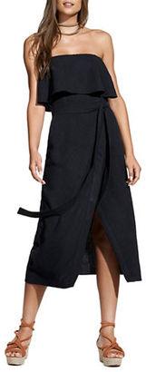 Vix Billowing Strapless Dress $248 thestylecure.com