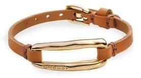 Uno de 50 Tie Me Buckled Leather Bracelet