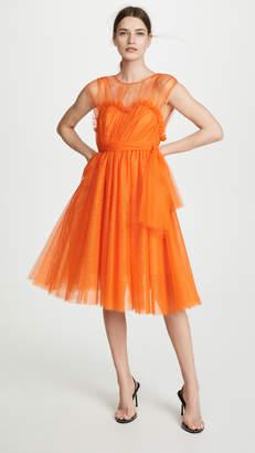 MSGM Neon Tulle Dress