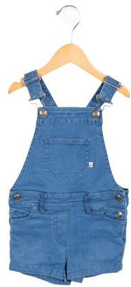 Bonpoint Girls' Denim Overalls $45 thestylecure.com