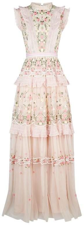 Lattice Rose Gown