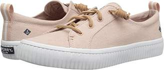Sperry Women's Crest Vibe Creeper Linen Sneaker