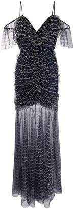 Alice McCall sheer stitch detail dress