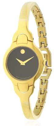 Movado Kara Yelow Gold PVD Ladies Watch 0606936
