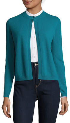 Max Mara Cashmere Button-Front Cardigan