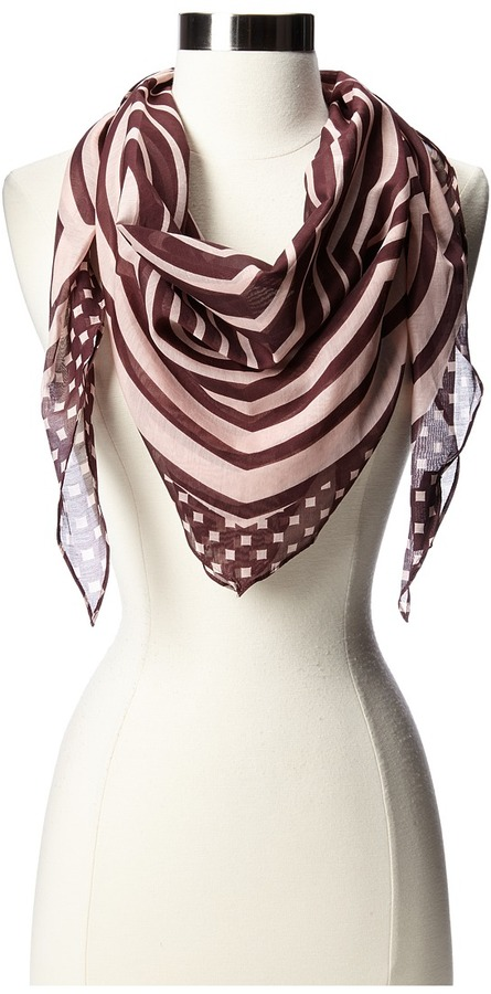 Marc by Marc Jacobs Marc by Marc Jacob Radiowave Diamond Scarf Scarve