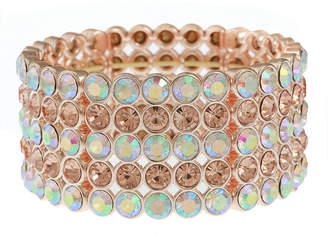 MONET JEWELRY Monet Jewelry Womens Pink Stretch Bracelet