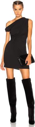 Tre Off the Shoulder Draped Mini Dress