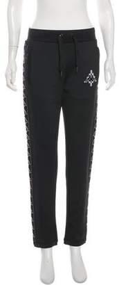 Marcelo Burlon County of Milan Mid-Rise Skinny Pants
