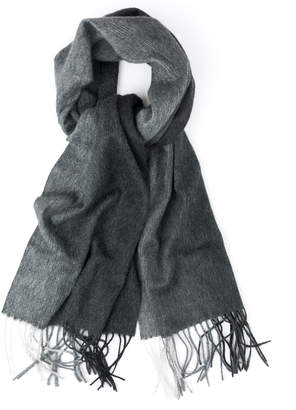 Quinn Fringed Ombre Cashmere Scarf
