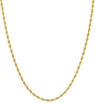 Tag Heuer FINE JEWELLERY 14K Yellow Gold Glitter Ultimate Chain Necklace