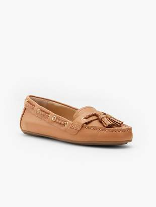 Talbots Everson Driving Moccasins - Pebbled Leather