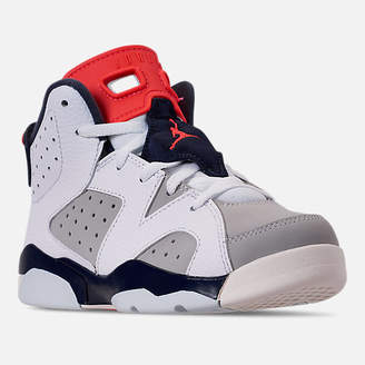 Nike Little Kids' Air Jordan Retro 6 Basketball Shoes