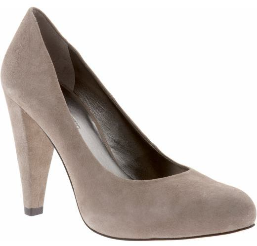 'Virginia' suede pump