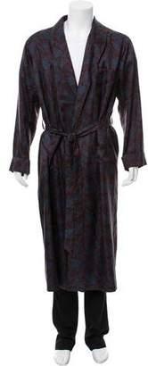 Etro Silk Paisley Robe