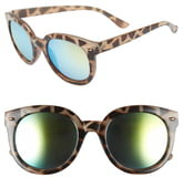 BP 52mm Oversize Mirrored Sunglasses