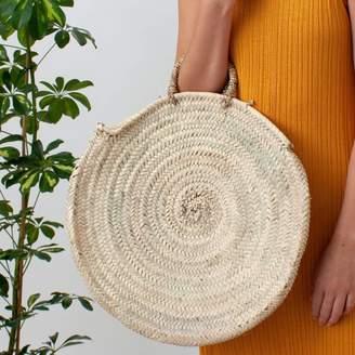 Bohemia Round Market Basket | Moroccan Tote Bag | Florence